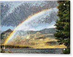 Rainbow - Id 16217-152026-0424 Acrylic Print