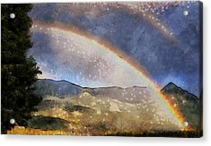 Rainbow - Id 16217-152029-1097 Acrylic Print