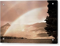 Rainbow - Id 16217-152112-3032 Acrylic Print