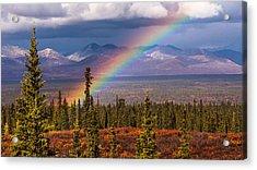 Rainbow Acrylic Print by Joanie Havenner