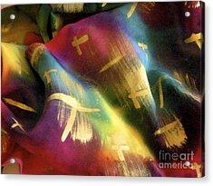 Rainbow Lights Acrylic Print by Joanna White