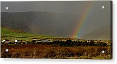 Rainbow Near Dingle Acrylic Print