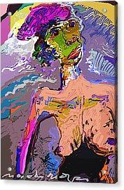 Rainbow Acrylic Print by Noredin Morgan