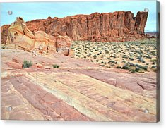Acrylic Print featuring the photograph Rainbow Of Color In Valley Of Fire by Ray Mathis