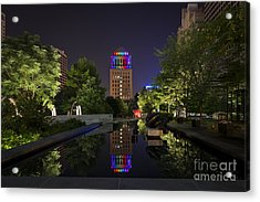 Rainbow Lights Acrylic Print