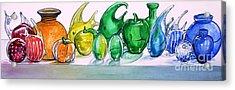 Rainbow Of Glass Acrylic Print