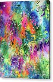 Rainbow Of Life Acrylic Print by Jo Ann Bossems