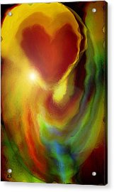 Rainbow Of Love Acrylic Print