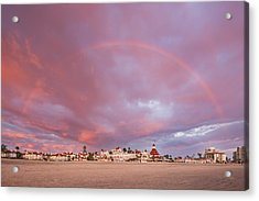 Rainbow Proposal Acrylic Print
