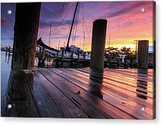 Acrylic Print featuring the photograph Rainbow Reflections by Jennifer Casey