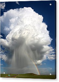 Rainbow Riches Acrylic Print by Victor Gensini