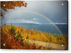 Rainbow Road Acrylic Print