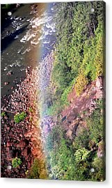Acrylic Print featuring the photograph Rainbow by Sergey  Nassyrov