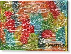 Rainbow Sparkle Acrylic Print