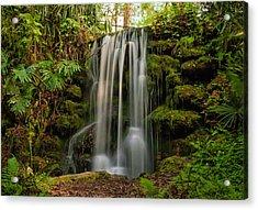 Rainbow Springs Waterfall Acrylic Print