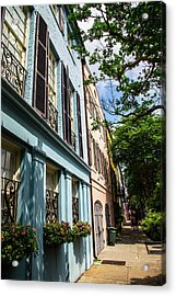 Acrylic Print featuring the photograph Rainbow Street by Karol Livote
