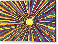 Rainbow Sunshine Acrylic Print