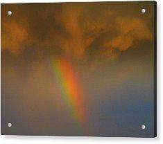 Rainbow Tornado.. Acrylic Print by Al  Swasey
