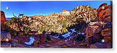 Acrylic Print featuring the photograph Rainbow Trail 1 by ABeautifulSky Photography