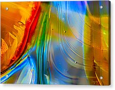 Rainbow Waterfalls Acrylic Print