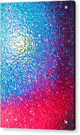 Rainbow Which Was Thought Up By Me Acrylic Print by Vadim Grabbe