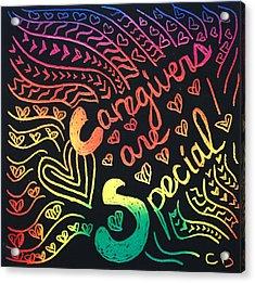 Rainbows Acrylic Print