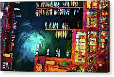 Rainbowts Acrylic Print