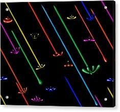 Raindance Iv - Chakra Shower Acrylic Print