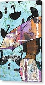 Raindrops... And Sunshine Acrylic Print by Angela L Walker