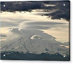 Acrylic Print featuring the photograph Rainier 8 by Sean Griffin