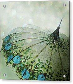 Raining Bokeh Acrylic Print