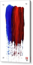 Raining Color Acrylic Print