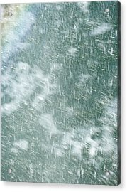 Raining In Abstract Acrylic Print