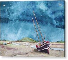 Rainmaker Acrylic Print by Ally Benbrook