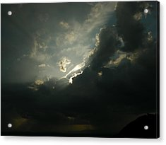 Rainmaker Acrylic Print by John Geck