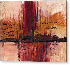 Rains Down Hell Acrylic Print