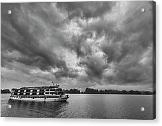 Acrylic Print featuring the photograph Rainy Day Cruise by Hitendra SINKAR