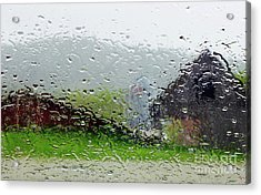 Rainy Day Farm Acrylic Print