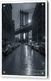 Rainy Day In Brooklyn Acrylic Print
