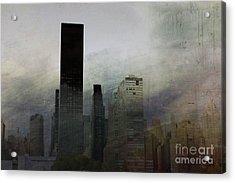 Rainy Day In Manhattan Acrylic Print