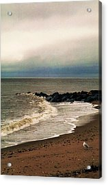 Rainy Day Acrylic Print by John Scates