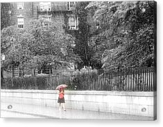Rainy Day Acrylic Print by Julie Lueders
