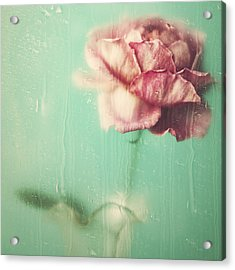 Acrylic Print featuring the photograph Rainy Day Romance by Amy Weiss
