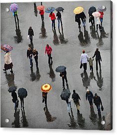 Acrylic Print featuring the photograph Rainy Day by Vladimir Kholostykh