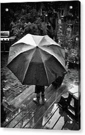 Rainy Day Acrylic Print by Winnie Chrzanowski