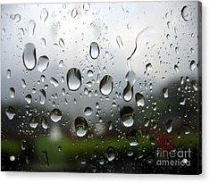 Rainy Day Acrylic Print by Yali Shi
