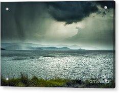 Rainy Mood Acrylic Print