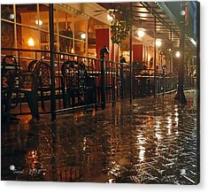 Rainy Night In Gainesville Acrylic Print