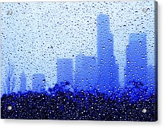 Rainy Seattle C010 Acrylic Print by Yoshiki Nakamura