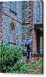 Acrylic Print featuring the photograph Rainy Sunday by Sandy Moulder